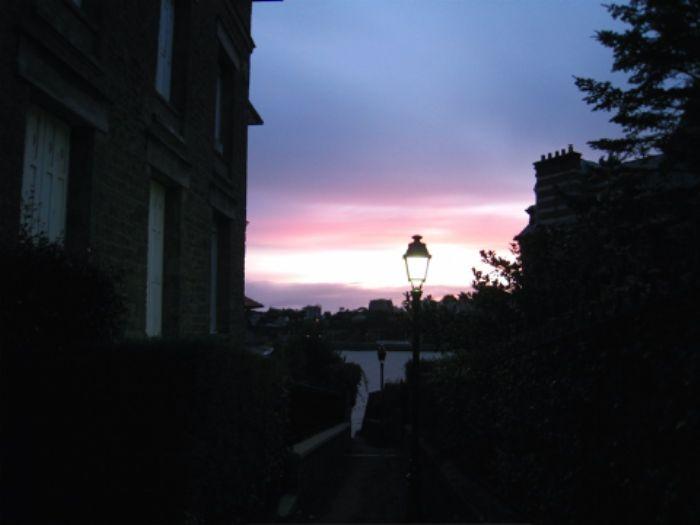 Dinard - le coucher de soleil