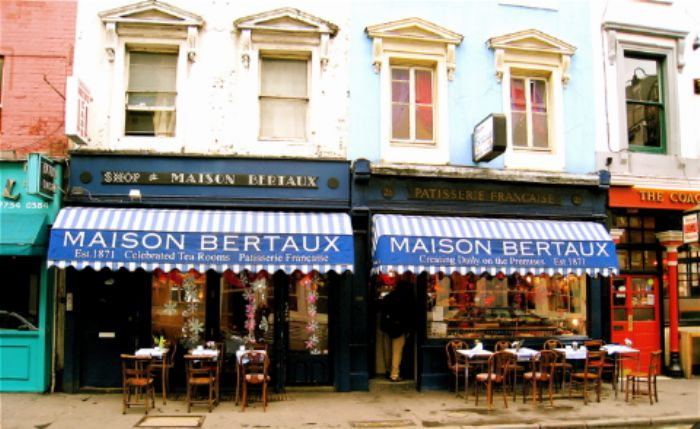Maison bertaux for Maison london