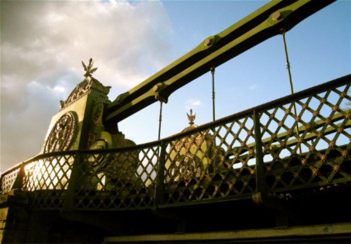 Hammersmith Bridge - girders