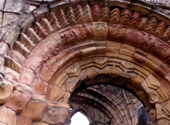 Detail - Jedburgh abbey