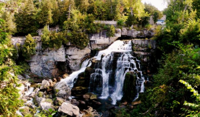 Inglis Falls near Owen Sound