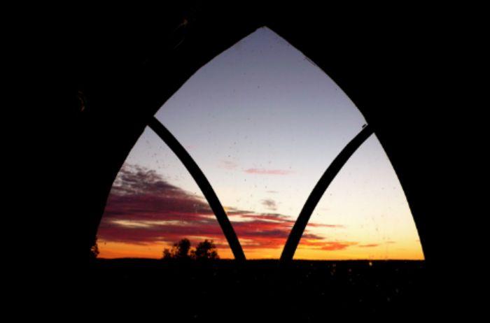 Sunset at Heroncroft ...