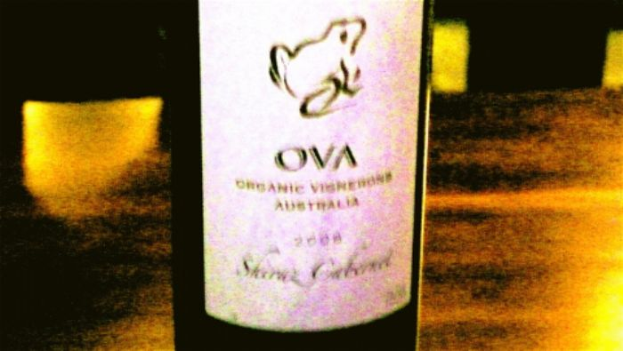 A very good bottle of wine ...