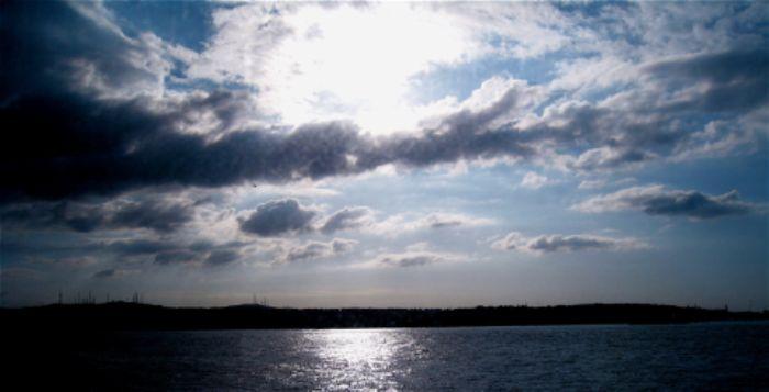 Moody skies over the Bosphorus, 2009