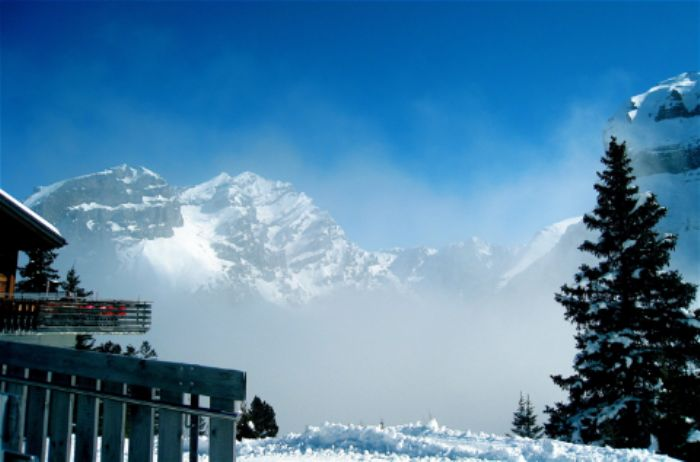Dreamscape at the top of the Sunnbuehl cable car ...