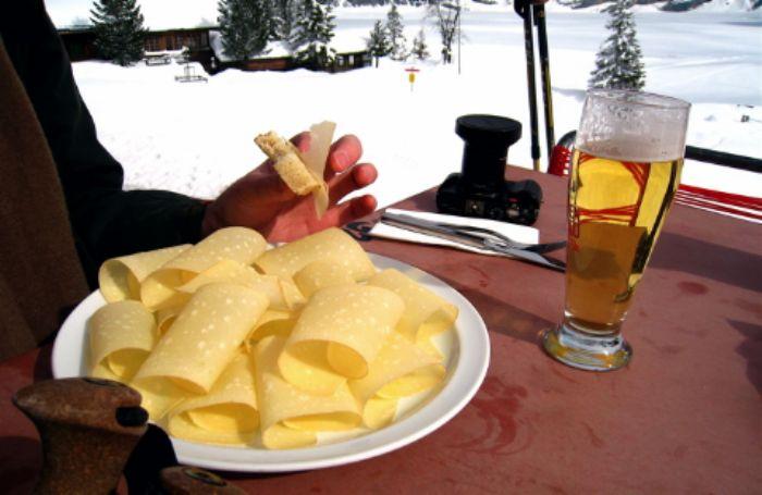 Traditional mountain fare