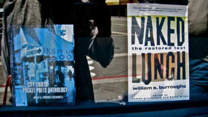 'City Lights' bookshop window 2