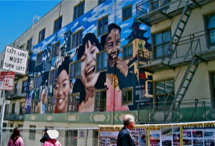 Exploring Chinatown ...