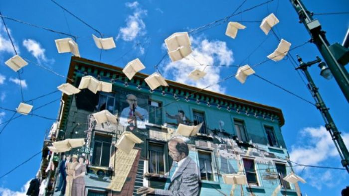 Flying books   -  and farewell!