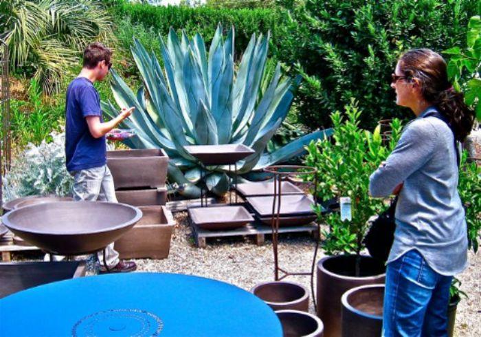 Blue heaven - garden shop