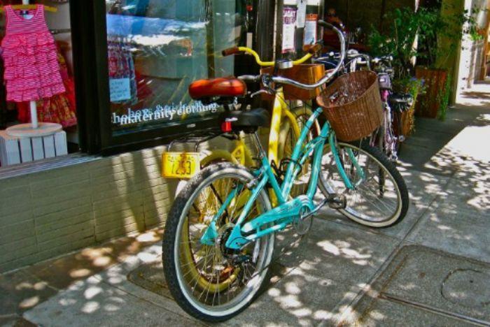 'On yer bikes'  -  a great alternative ..