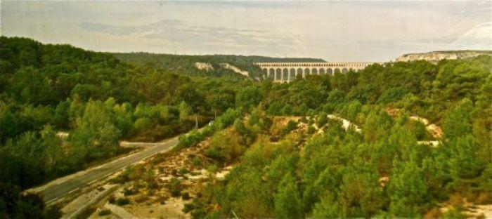 A viaduct near Aix