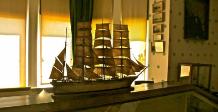 Overbeck's house and garden - The Maritime Room