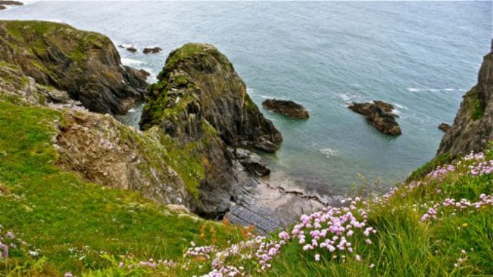 Secret unreachable coves - Burgh Island