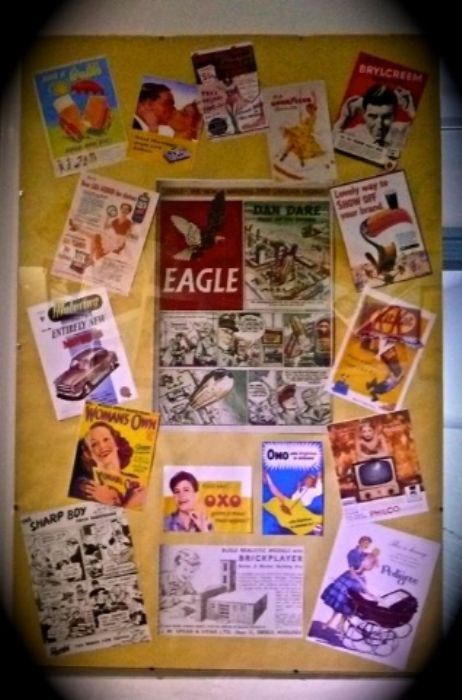 Shaftesbury Museum  -  a collection of 50s posters and magazines ...