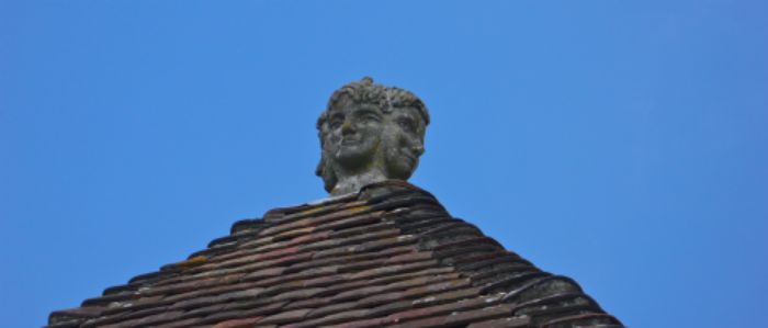On watch at the abbey ...