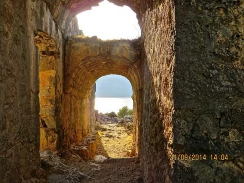 Gemiler Island - ruins
