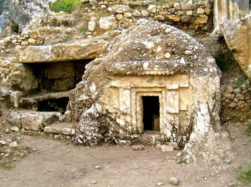 Tlos - newly discovered tomb below citadel