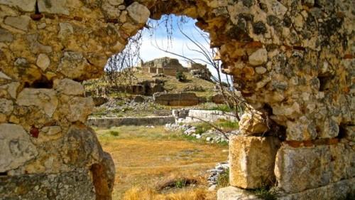 Tlos - long view of citadel