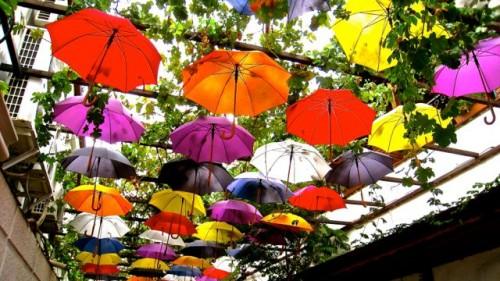 Umbrellas at Fethiye