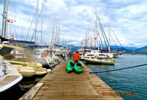Fethiye - on the jetty