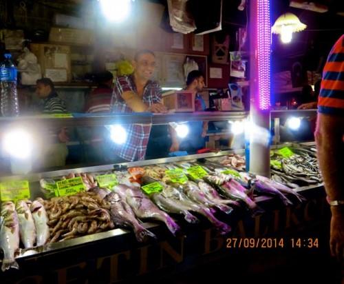 Fethiye - at the fish market