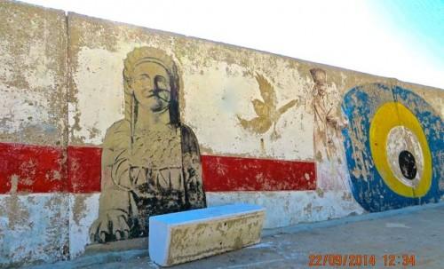 Kas - breakwater - Mysterious Beasts ... and Atatürk