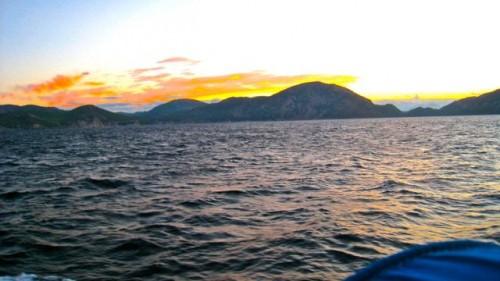 Dawn - on our way to Kaunos