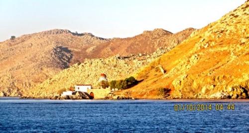 A Greek monastery ...