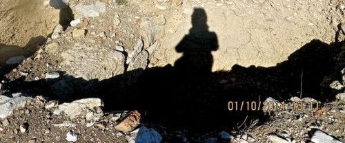 Knidos - me and my shadow ...!