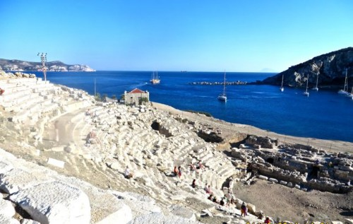 Knidos - part of amphitheatre