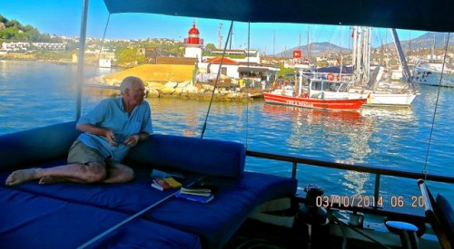 Bodrum - approaching the harbour ...