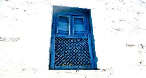 Bodrum - a burkha window