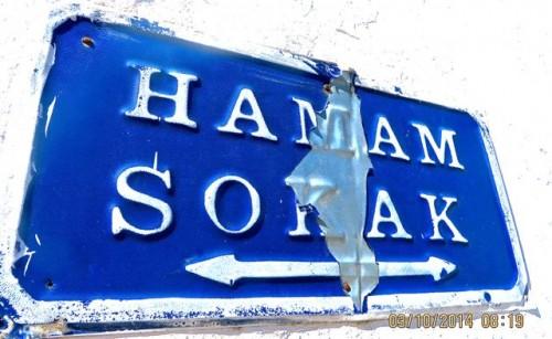 Bodrum - street sign