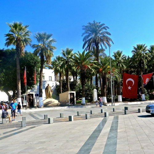 Bodrum - the square on the waterfront