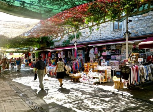 Bodrum - the covered market