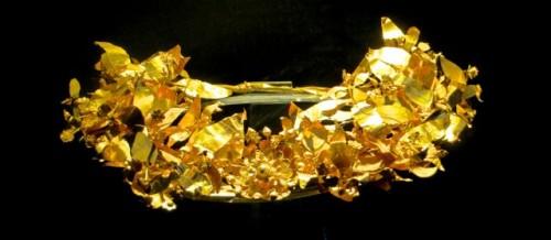Bodrum - Golden crown belonging to Carian princess Ada I