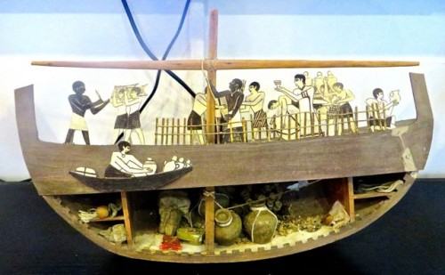 Model of ship in Maritime Museum