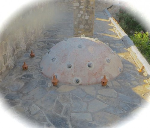 Alien arrival at Bodrum castle ... !