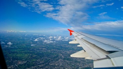 Coming home into Heathrow ...