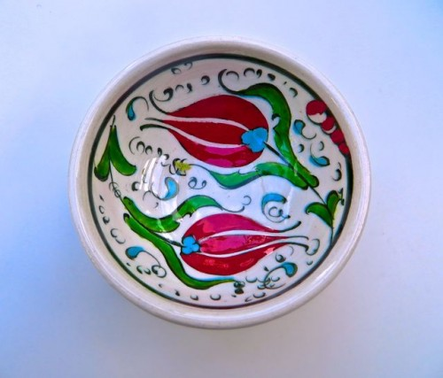 A tulip bowl ...