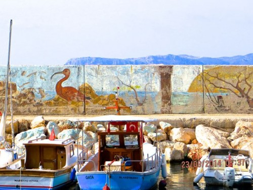 Kas harbour - Birds, boats and sea air ...