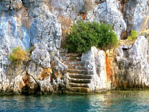 Kekova - Staircase 2
