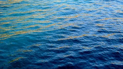 Kekova - gold on blue - my Monet moment!