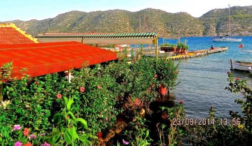 Kaleköy - restaurants by the jetty ...