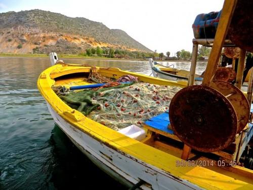 Myra - ... an even smaller boat