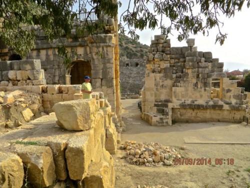 Myra - John among the ruins