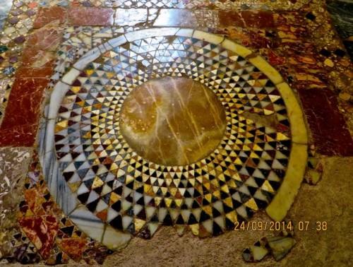 St. Nicholas - floor mosaic