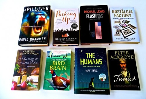 A sample of book covers 1