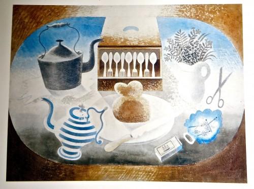 A table set for tea